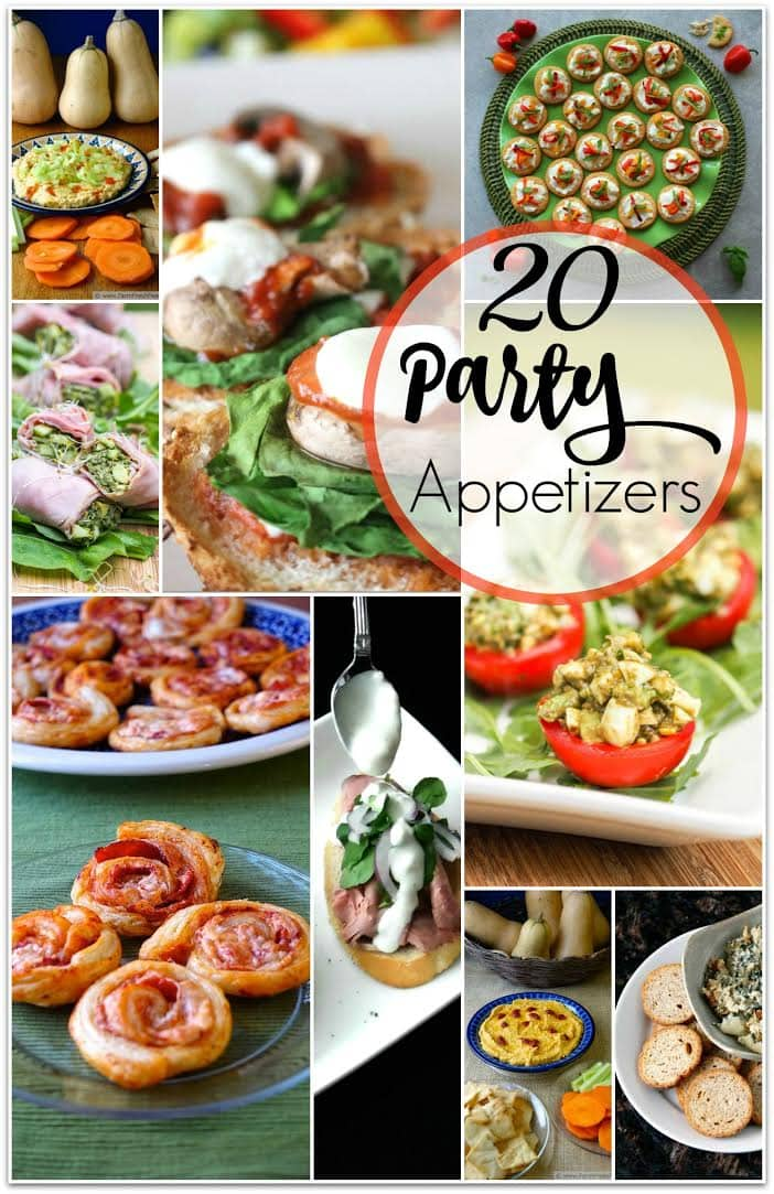 20 scrumptious party appetizers food fun faraway places for Something delicious to eat for dinner