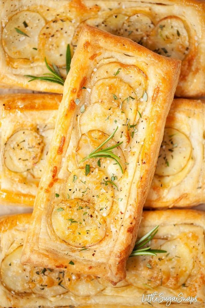 potato puff tart