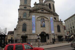 Notre-Dame de Québec on the reopening of the Holy Door