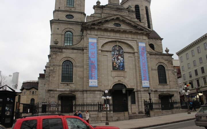 Notre-Dame de Québec on the reopening of the Holy Door
