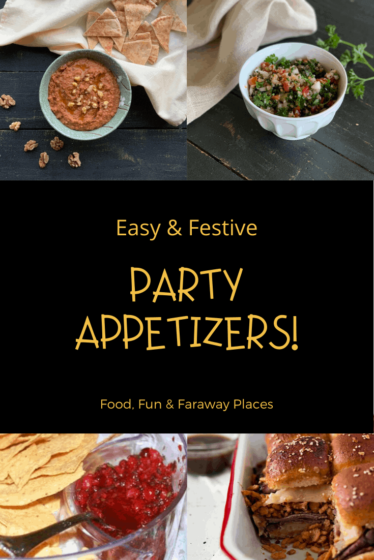 Looking for some fun and easy party appetizers? You'll find something for everyone in this round up of delicious small plate recipes.