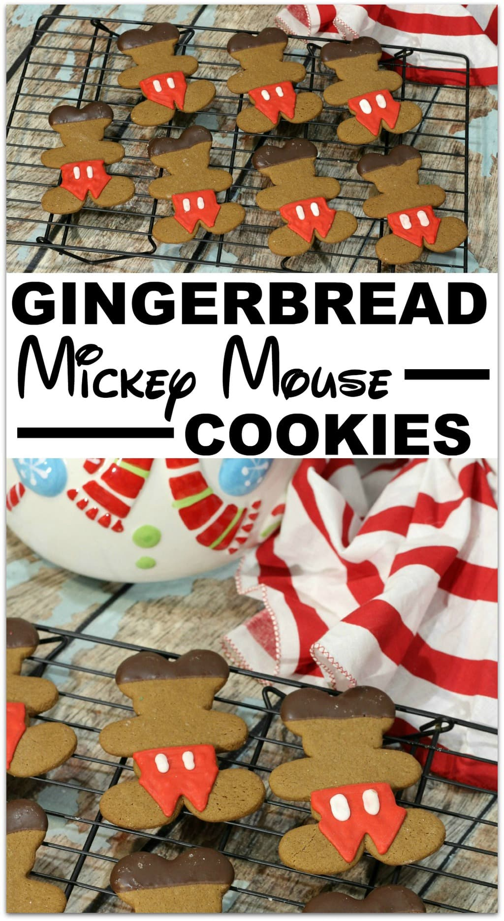These Gingerbread Mickey Mouse Cookies are the perfect recipe for that class party! Who doesn't love Mickey Mouse? Cookies are the easiest dessert to make and transport! You'll be a rock star mom when this dessert shows up!