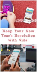 It's that time of the year again when we make resolutions to improve our lives. What's yours this year? Is it the same as last year? Me, too. But I really think I've found something that will turn things around for me. Let's do it together. Keep Your New Year's Resolution with Vida.