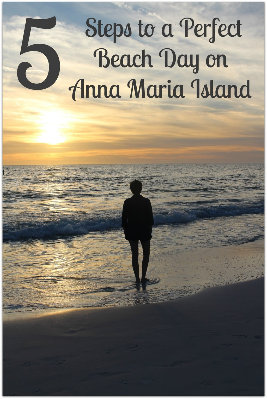 Because I want you to have a perfect beach day on Anna Maria Island, I thought it would be helpful to give you some ideas of what to expect and what to take with you. I hope this short list will make your visit to the beach more enjoyable.