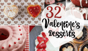 Whether going out to a party or staying home with family, Valentine's Day Desserts have to be part of your Valentine's Day festivities! I've found 32 amazing desserts and put them all together for your convenience! Love chocolate? You'll find it here! Cheesecake? We've got that, too. We even have special rice krispie treats and pink popcorn, perfect for that class party. Which dessert will you be making on February 14th?