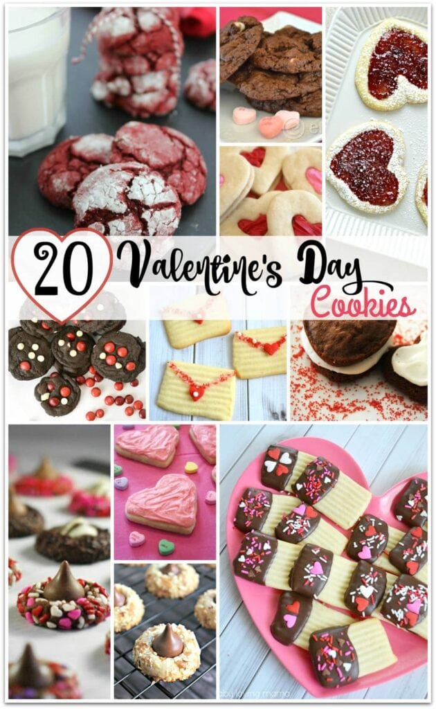 20 Fabulous Valentines Day Cookie Recipes Food Fun