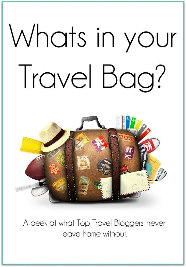 Travel Bloggers across the globe share what's in their bag!