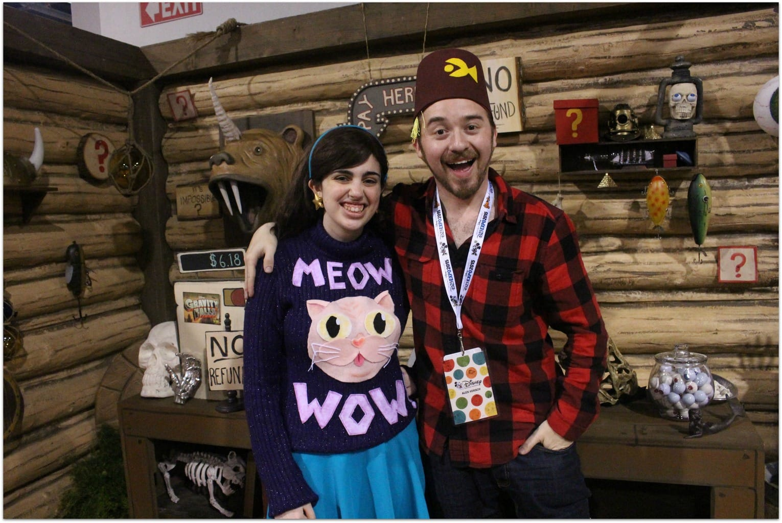 Meeting Alex Hirsh, Creator of Gravity Falls - Food Fun & Faraway Places
