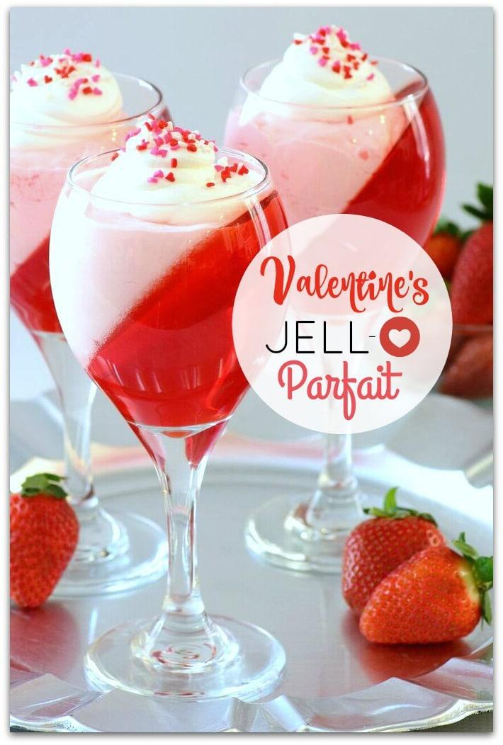Festive and delicious jello parfait food fun faraway for Easy delicious christmas dessert recipes