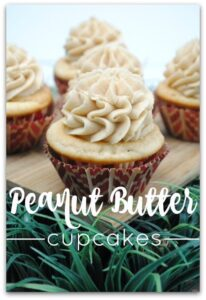 This light and creamy peanut butter cupcake is so delicious, you'll be making this recipe for every party you attend. Who doesn't love peanut butter? Put it in a cupcake, and you've got my favorite dessert recipe! I also love that this is a simple dessert to make, and it won't keep you in the kitchen for hours. Easy is good for a change, right?