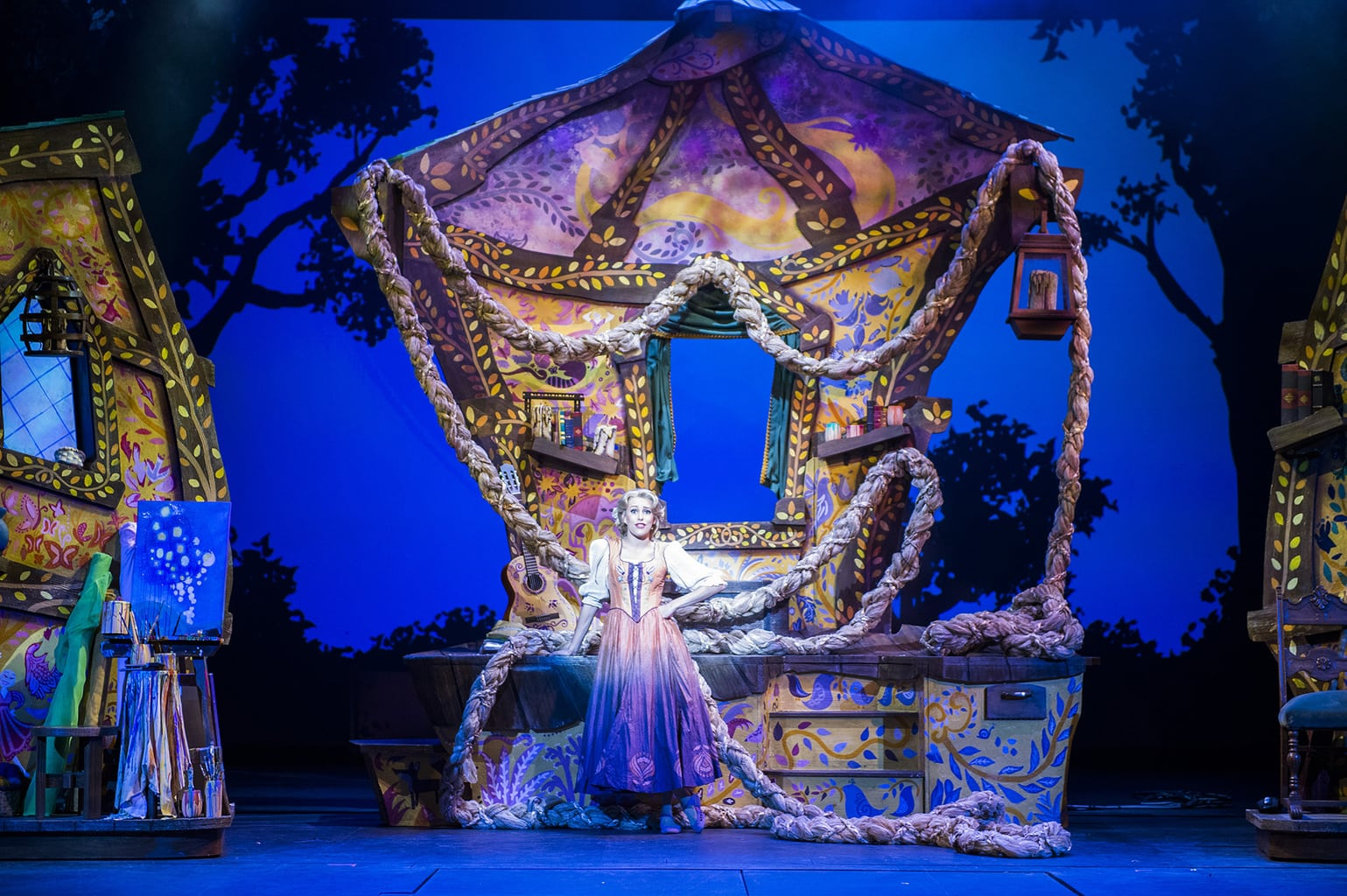 """Tangled: The Musical"" is the newest original Disney Cruise Line stage spectacular."