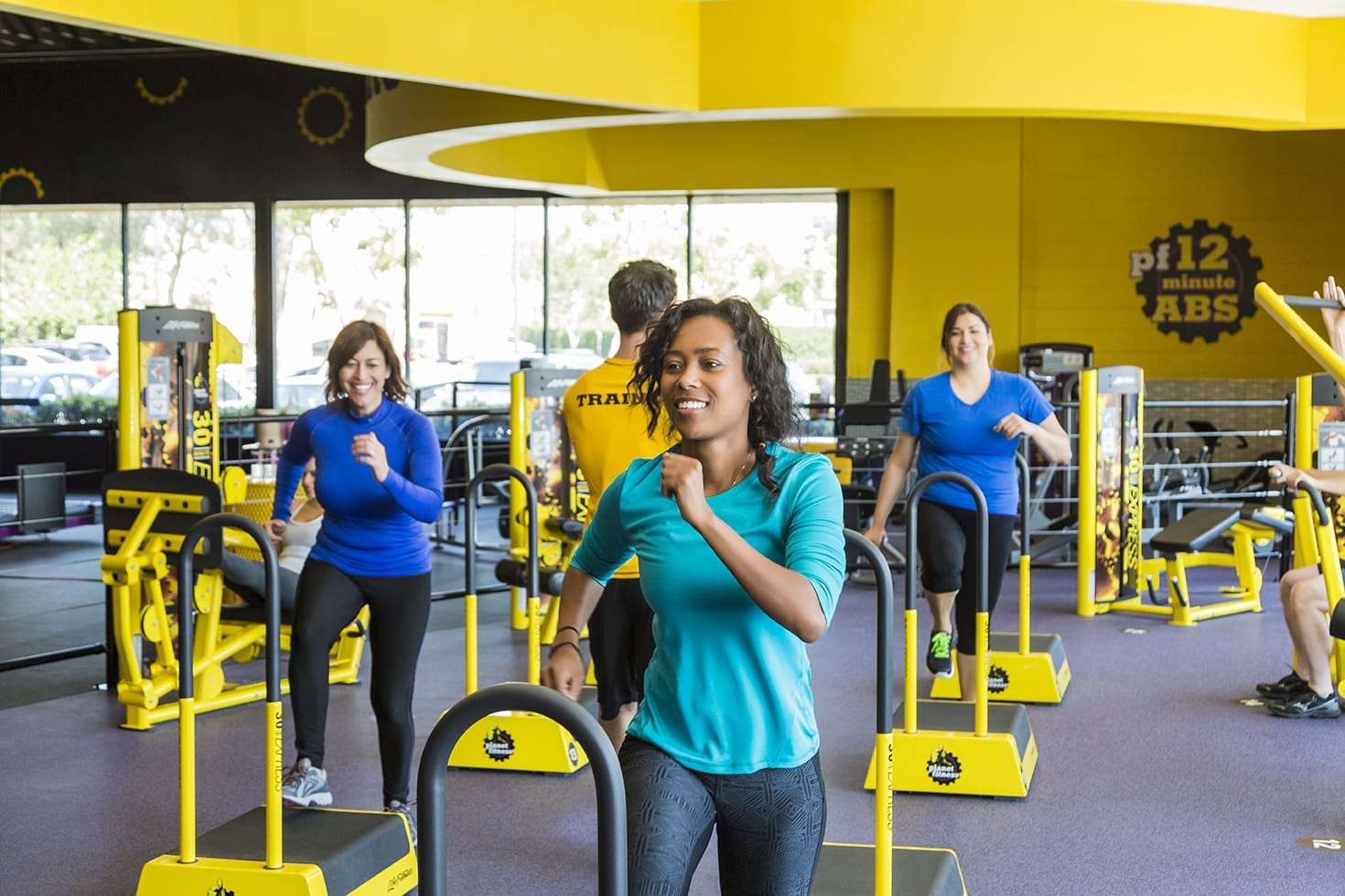 you can join planet fitness for $10/month during this special!