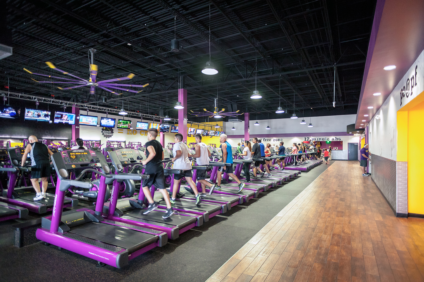 Check out the list of Planet Fitness locations and stop in for a visit on April 4th for the very special one-day spring membership sale, where new members can join any location for just $1 down and $10 a month with absolutely no commitment!