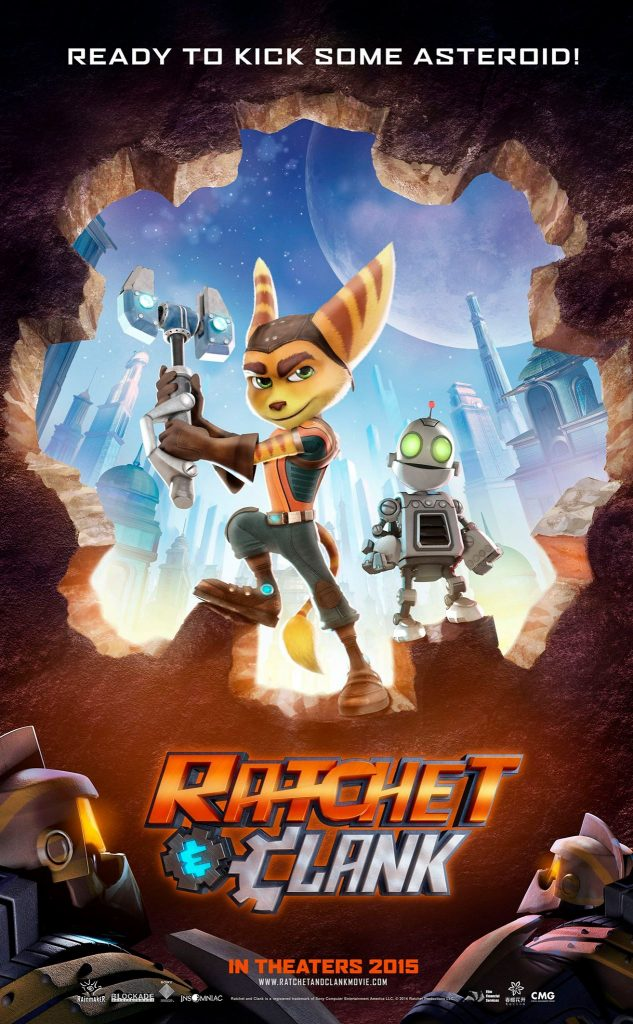 Excited to share interviews from some of the cast of Ratchet & Clank!