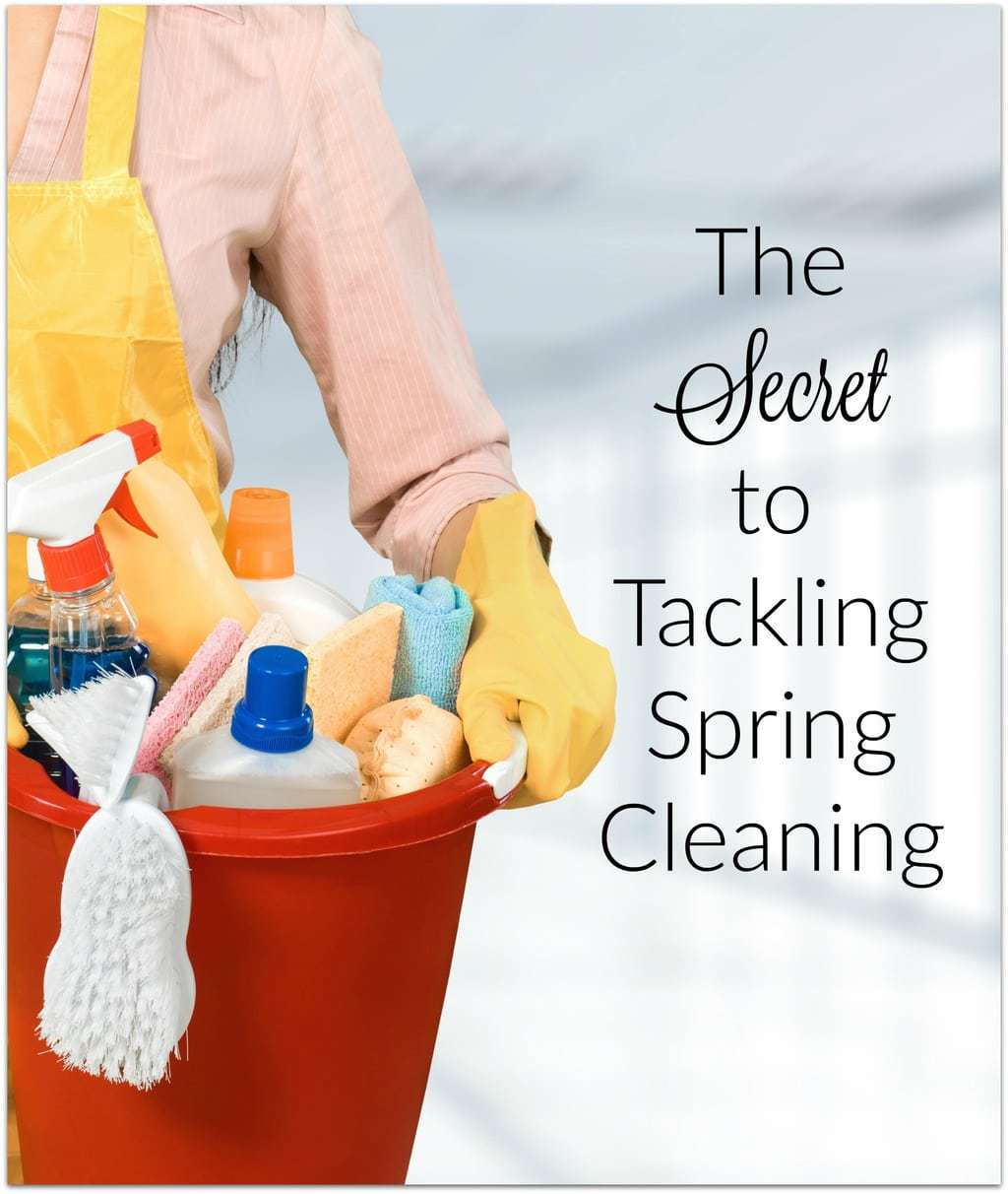 Spring cleaning is one of the most satisfying chores for me. Even though I live in Florida, it does get chilly here, and right around this time of year we can start opening the windows and let that fresh spring air in. The problem is, we're busy, and though I love the feeling after it's done, getting to it is the issue. I put it off and put it off until I can't put it off any longer! Can you relate?