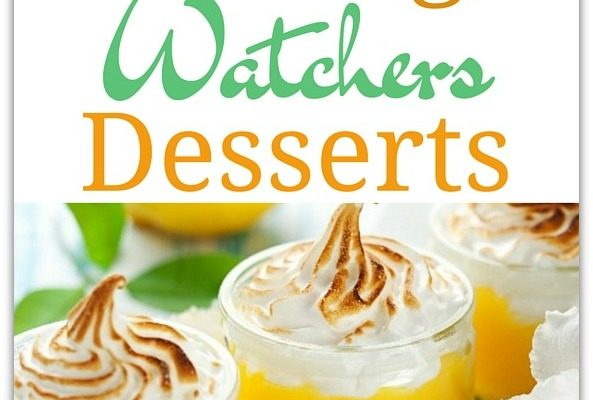 20 Delicious Weight Watchers Desserts Recipes