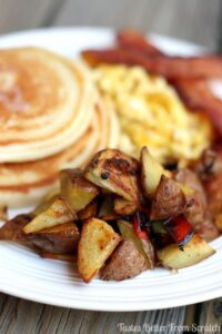 Delicious breakfast potatoes make a wonderful addition to Mother's Day brunch!