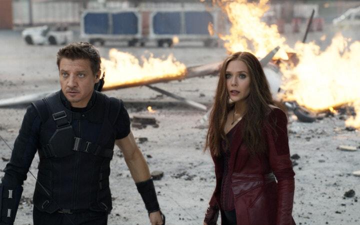 Interviewing Elizabeth Olsen and Jeremy Renner for Captain America Civil War