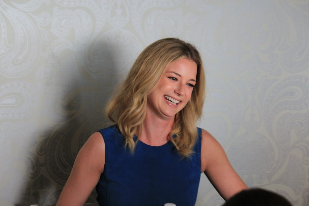 """I want to see girls have the best opportunities they possibly can and if I can inspire that in the tiniest way, I don't see why I wouldn't."" Emily VanCamp on Captain America Civil War"