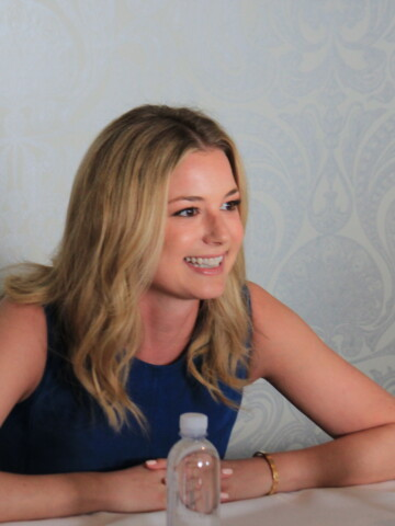 """""""I want to see girls have the best opportunities they possibly can and if I can inspire that in the tiniest way, I don't see why I wouldn't."""" Emily VanCamp on Captain America Civil War"""