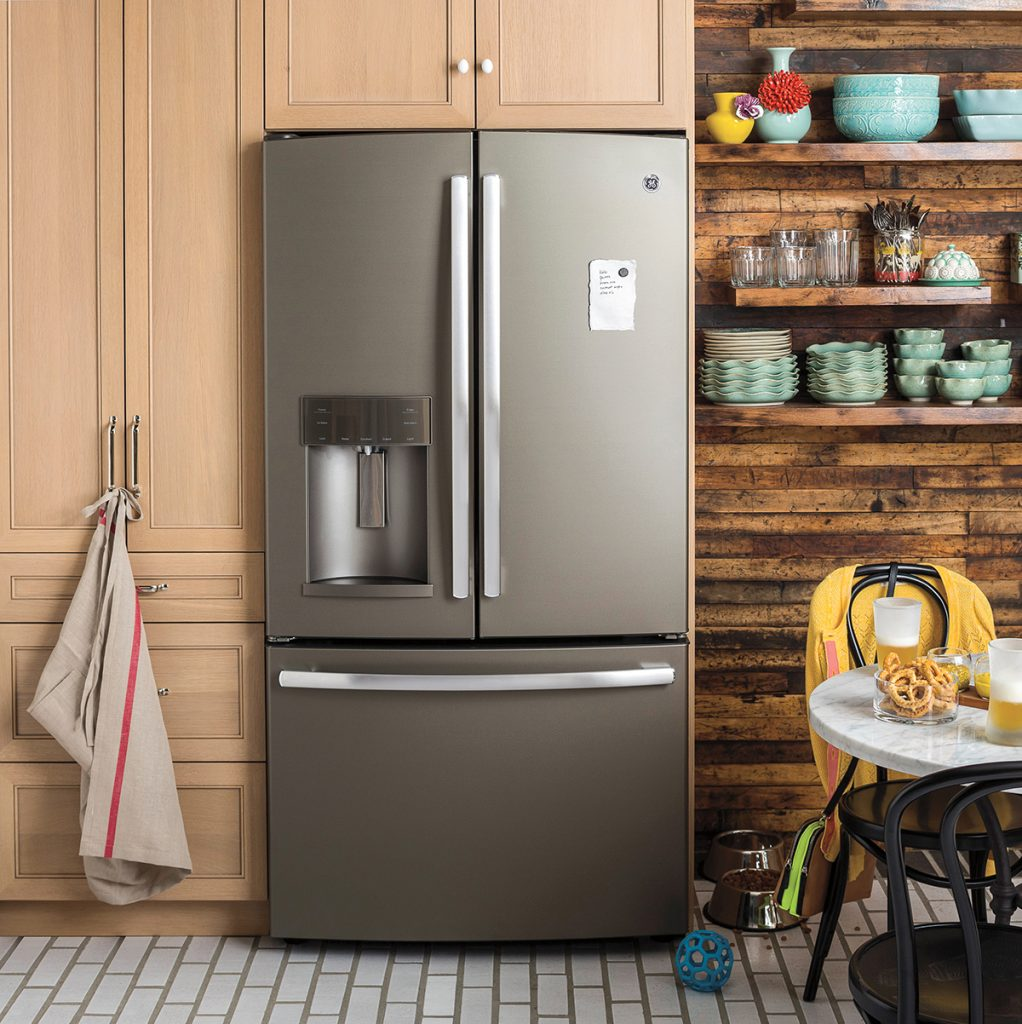 Kitchen appliances in slate color - Whether You Prefer A Modern Or Traditional Touch Anyone Can Draw Inspiration From Ge S Appliances