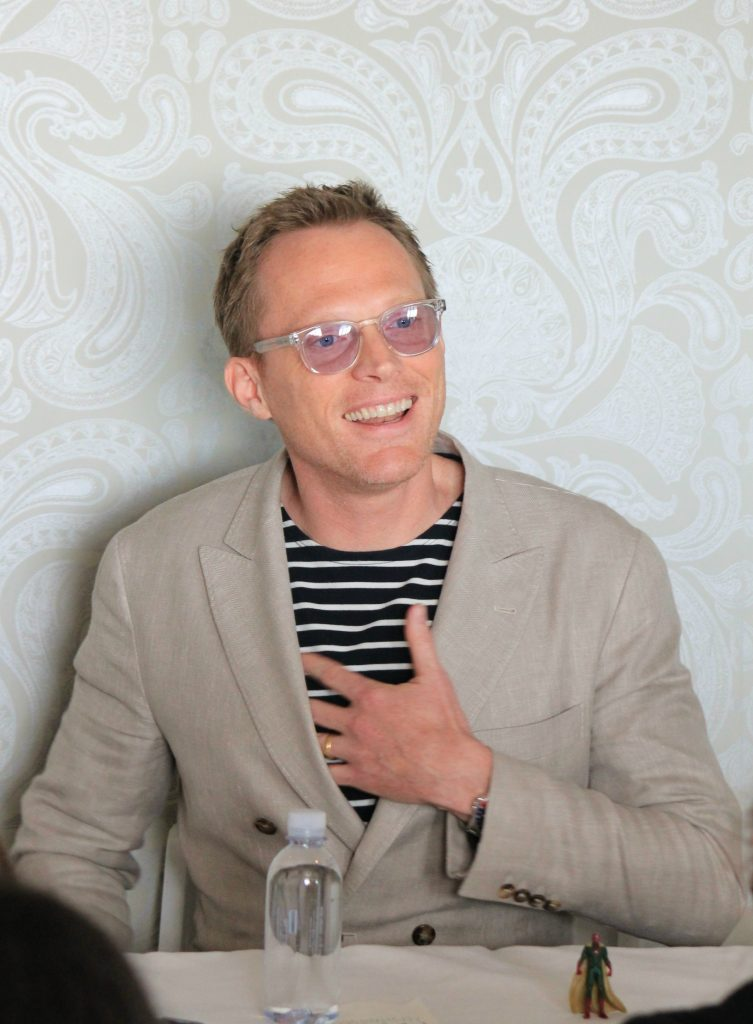 Interviewing Paul Bettany, the Vision, from Captain America Civil War