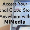Get Organized with MiMedia & Giveaway!