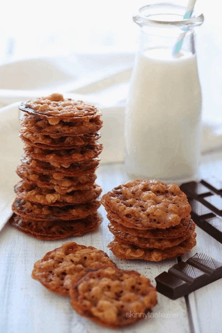 I've got 25 Decadent Weight Watchers Cookie Recipes so you don't have to miss out on dessert while losing weight with Weight Watchers!
