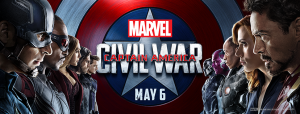 I'll be screening Captain America Civil War and interviewing the cast!