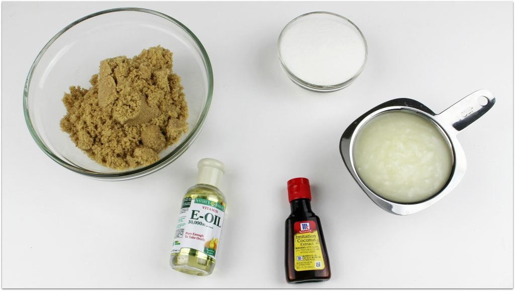 Doesn't the thought of a coconut brown sugar scrub just make you want to head right to the shower?
