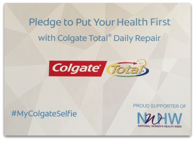 I was excited to try the new Colgate Total® Daily Repair Toothpaste, and I absolutely love the way it makes my mouth feel! It seems extra creamy, and my whole mouth felt really clean and fresh after brushing.