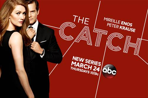 I'll be screening episodes and visiting the set of THE Catch