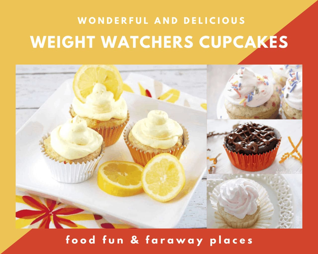 Just the words Weight Watchers Cupcakes seems a contradiction, doesn't it? How in the world can you eat cupcakes when you're trying to lose weight? You can!