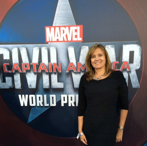 My review of Captain America Civil War and interviews with the cast.