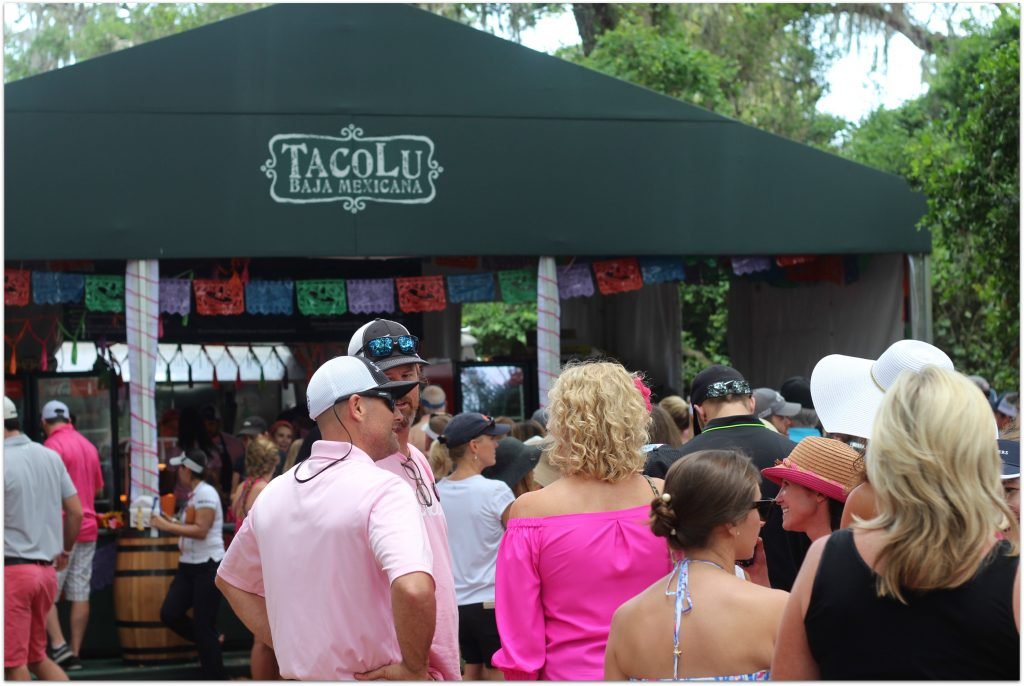Tacos on 12 is where you can get that famous Mexican food from TacoLu. I didn't have a chance to try it, but the crowd out front told me there was something magical going on there!