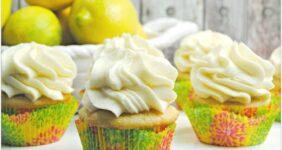 Lemon Chiffon Cupcakes