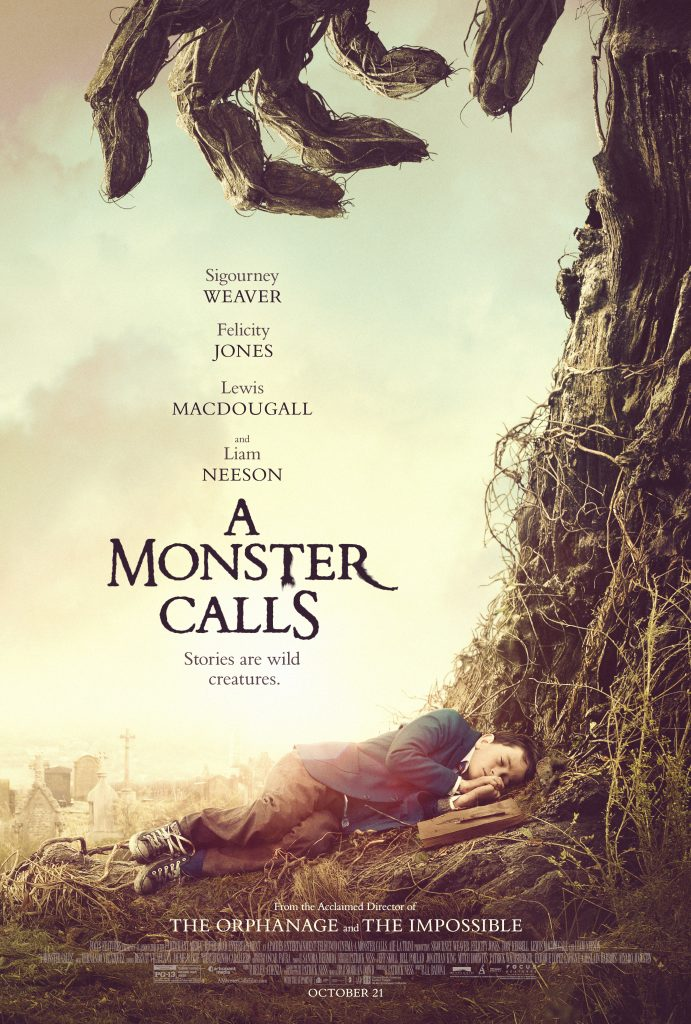 A visually spectacular drama from director J.A. Bayona, starring Liam Neeson, Sigourney Weaver, and Felicity Jones.