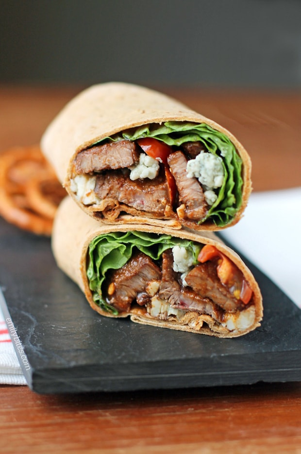 These Weight Watchers Wraps are the perfect way to change up your lunch options. Sometimes a sandwich just doesn't cut it, know what I mean?