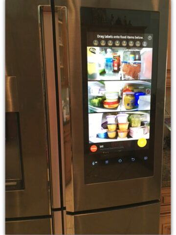 There are refrigerators and then there's the Samsung Family Hub Refrigerator.