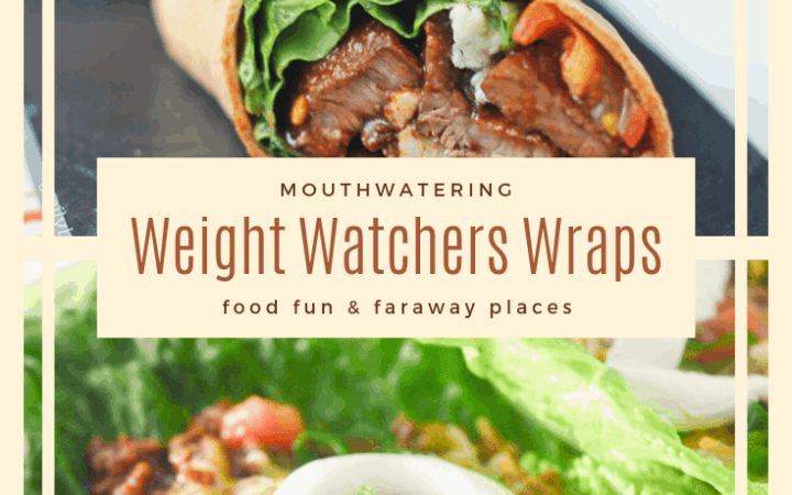 These Weight Watchers Wraps are the perfect way to change up your lunch options. Sometimes a sandwich just doesn't cut it, know what I mean? #WeightWatchersWraps #WeightWatchersDinner #WeightWatchersMeals