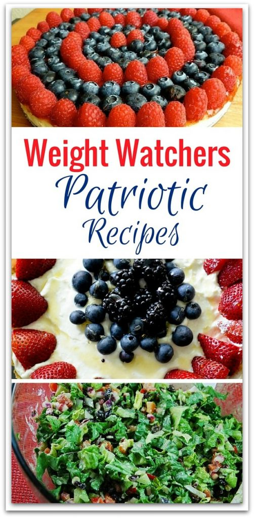 Don't miss out on the fun during holiday parties just because you're watching your weight. Enjoy these great Weight Watchers Patriotic recipes!