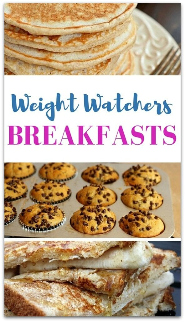 These Weight Watchers breakfast recipes will change your mind about eating breakfast. Just because you're trying to trim down doesn't mean you should skip that first meal of the day.