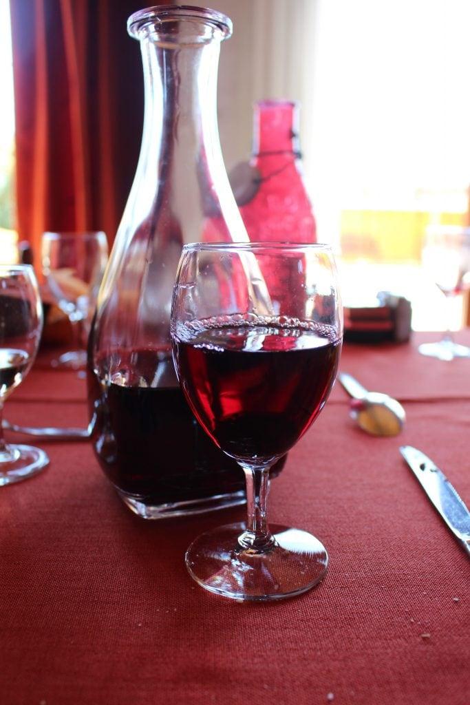 wine on viking Lyon to Provence excursion