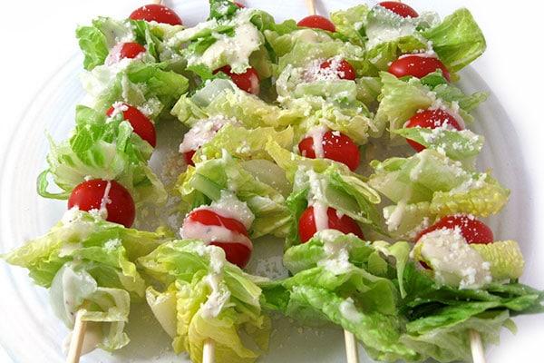 caesar salad sticks