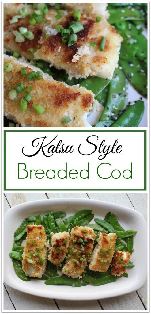 Delicious Katsu Style Breaded Cod Food Fun Faraway Places