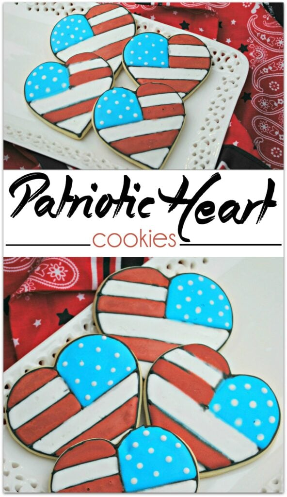 Nothing brightens up the table of a picnic, cookout or party like patriotic sugar cookies! Place these cookies front and center and show your love for the USA! As tasty as they are pretty, this buttery deliciousness won't be on the table long!