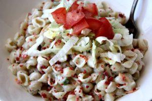 BLT Pasta salad for Weight Watchers