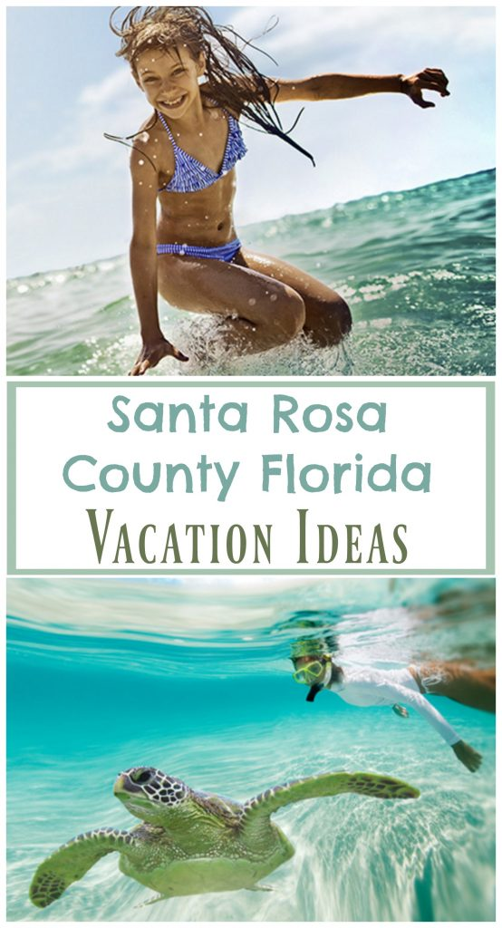 When you're looking for a family vacation destination in Florida, Santa Rosa County has got to be on your list.