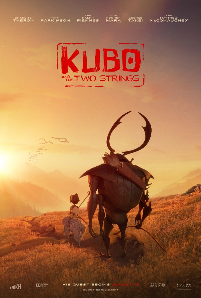 Who's excited for Kubo and the Two Strings?