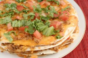 This southwestern pizza is Weight Watchers friendly.